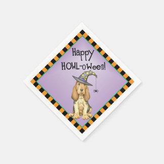 Halloween Bloodhound Disposable Napkin