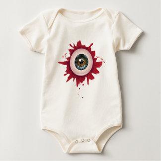 Halloween Bloody Eyeball3 Baby Bodysuit