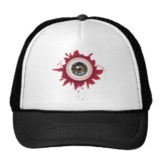 Halloween Bloody Eyeball3 Cap