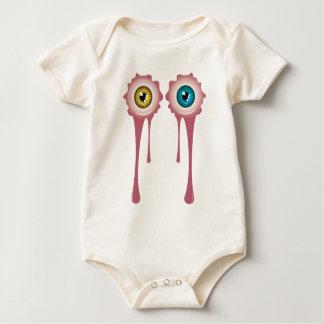 Halloween Bloody Eyeball 2 Baby Bodysuit