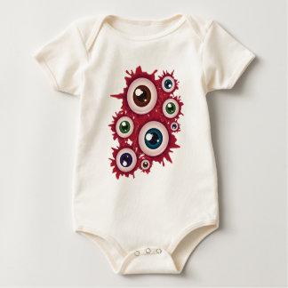 Halloween Bloody Eyeball 4 Baby Bodysuit