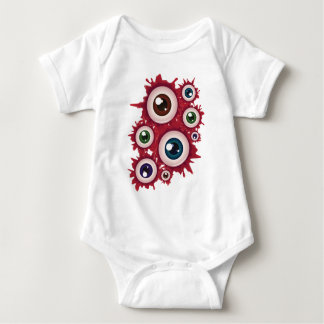 Halloween Bloody Eyeball 4 Baby Bodysuit