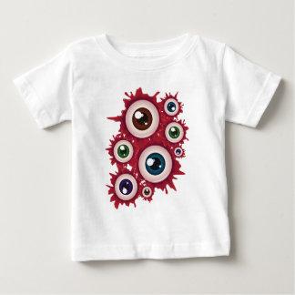 Halloween Bloody Eyeball 4 Baby T-Shirt