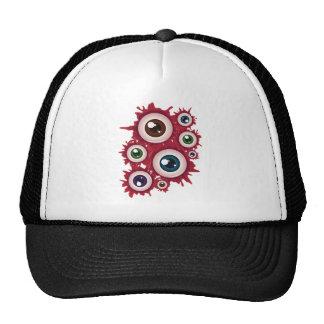 Halloween Bloody Eyeball 4 Cap