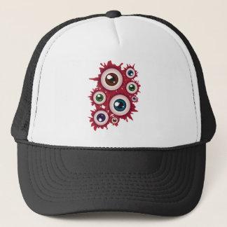 Halloween Bloody Eyeball 4 Trucker Hat