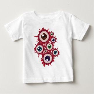 Halloween Bloody Eyeball 5 Baby T-Shirt