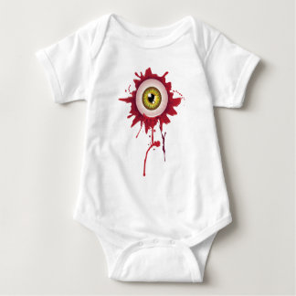 Halloween Bloody Eyeball Baby Bodysuit