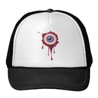 Halloween Bloody Eyeball Cap