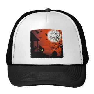 Halloween Bloody Moonlight Nightmare Cap