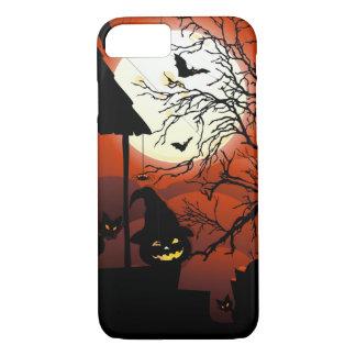 Halloween Bloody Moonlight Nightmare iPhone 8/7 Case