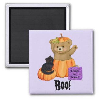 Halloween Boo Bear Magnet