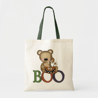 Halloween Boo Bear Trick Or Treat Bag