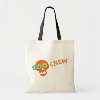 Halloween Boo Crew Canvas Bag