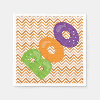Halloween Boo Paper Napkins
