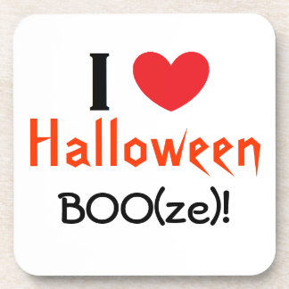 """Halloween BOO(ze)!"" Coasters"