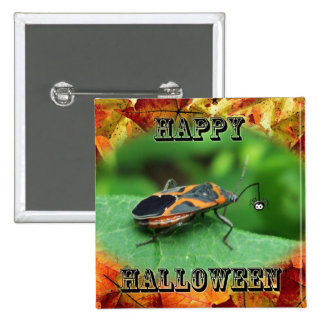 Halloween Box Elder Bug Coordinating Items 15 Cm Square Badge
