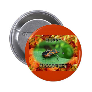 Halloween Box Elder Bug Coordinating Items 6 Cm Round Badge