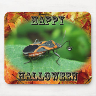 Halloween Box Elder Bug Coordinating Items Mouse Pad
