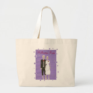 Halloween Bride Canvas Tote Bags