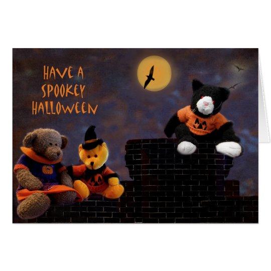 Halloween Buddies II Card