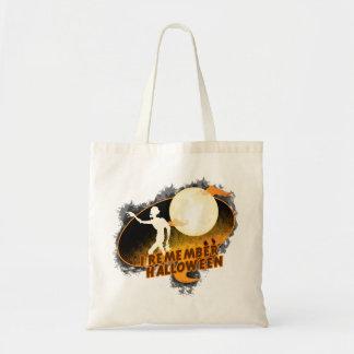 Halloween Budget Tote Bag