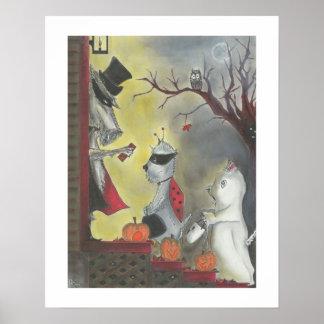 Halloween Bug-a-Boos Print