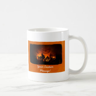 Halloween Candles 1 Basic White Mug