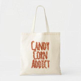 Halloween Candy Corn Addict Trick or Treat Bag