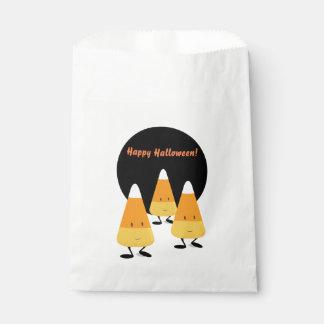 Halloween Candy Corn | favor bag