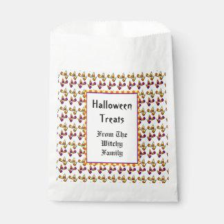Halloween Candy Corn Pattern Custom Favor Bag