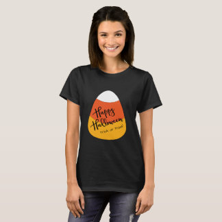 Halloween Candy Corn Trick or Treat T-Shirt
