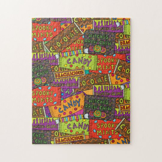Halloween Candy Fun Jigsaw Puzzle