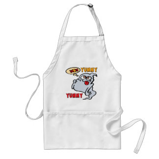 Halloween Candy Ghost Adult Apron