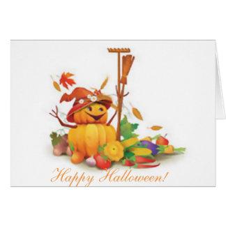 halloween card, custom, poem card