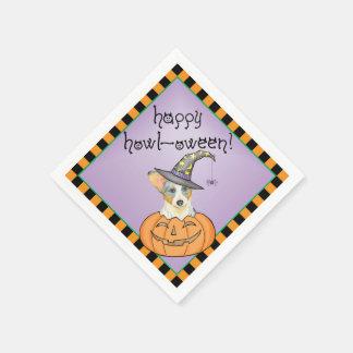 Halloween Cardigan Welsh Corgi Disposable Serviette