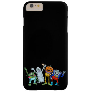 Halloween cartoon creatures waving barely there iPhone 6 plus case