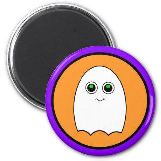 Halloween Cartoon Ghost 6 Cm Round Magnet