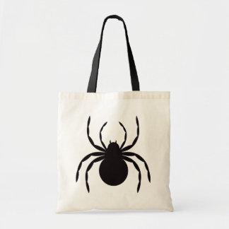 Halloween case spider tote bag