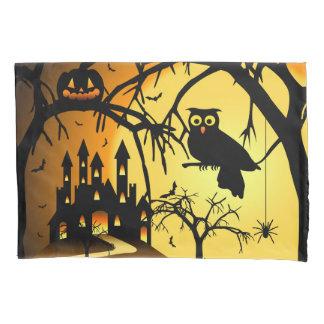Halloween Castle (1 side) Pillowcase