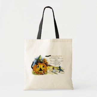 Halloween Cat and Mouse Budget Tote Bag