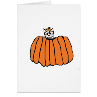 Halloween Cat Card