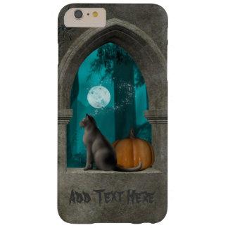 Halloween Cat Castle Window iPhone Case