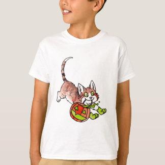 Halloween Cat Kids T-shirt