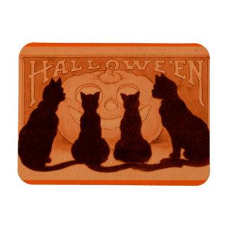 Halloween Cats Magnet