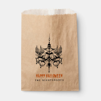 Dracula Halloween Party Favour Bags