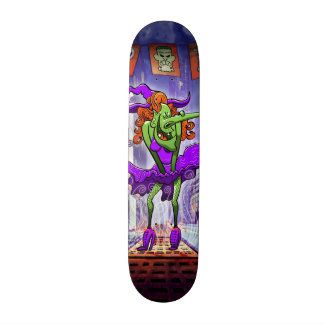 Halloween Charming Witch Skate Decks