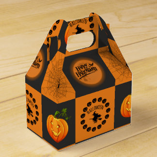 Halloween Chessboard Favour Box