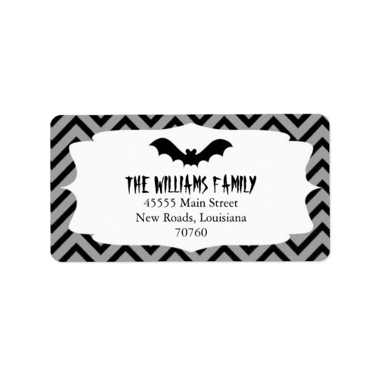 Halloween | Chevron Label