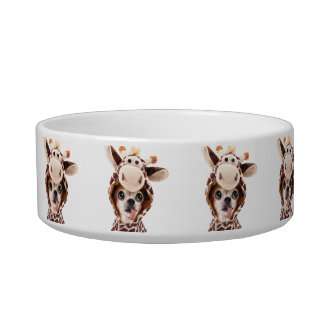Halloween Chihuahua Pet Bowl Add Photo