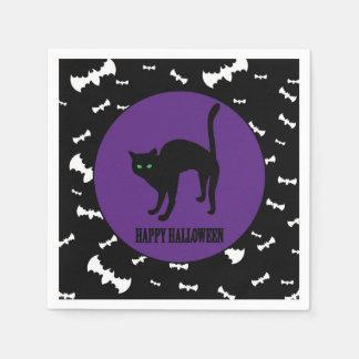 Halloween - Child - Family - Black Cat Disposable Napkin